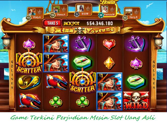 Game Terkini Perjudian Mesin Slot Uang Asli